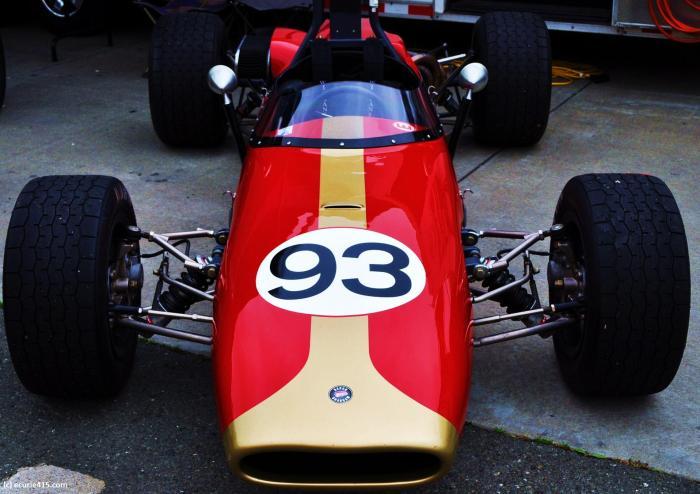 A 1966 Brabham BT18, F2. (Photo: S. Bloom)