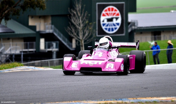 Keke Rosberg's Purple People Eater. (Photo: S. Bloom)